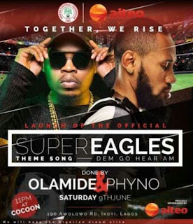 [Music] : Olamide X Phyno - Road To Russia 'Dem Go Hear Ham' (Super Eagles Theme Song)