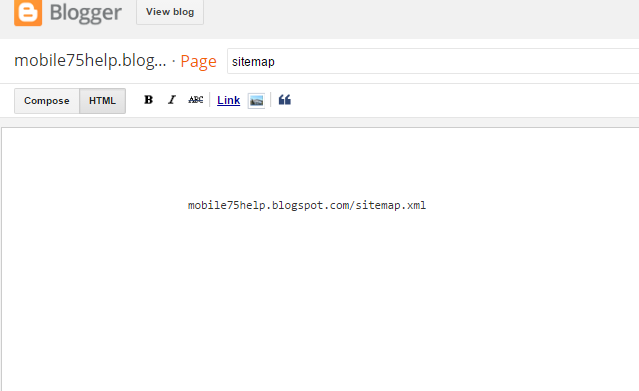 blogger blog me or wordpress me sitemap kaise add kare seo and