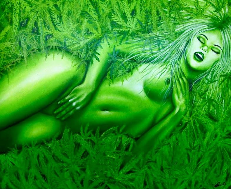 Prazer Verde -  Pinturas de Lisete Alcalde | O pintor que toca o coração