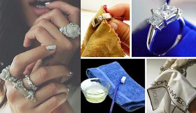 6 cách giúp làm sáng trang sức bằng bạc