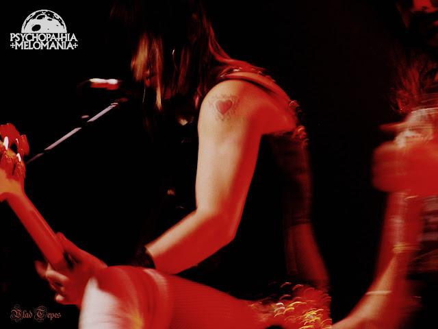 Karen Cuda @Nashville Pussy, La Loco, Paris 28/01/2009