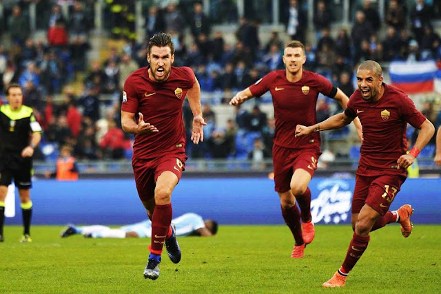 Mais incisiva, Roma derrotou a Lazio no Derby della Capitale