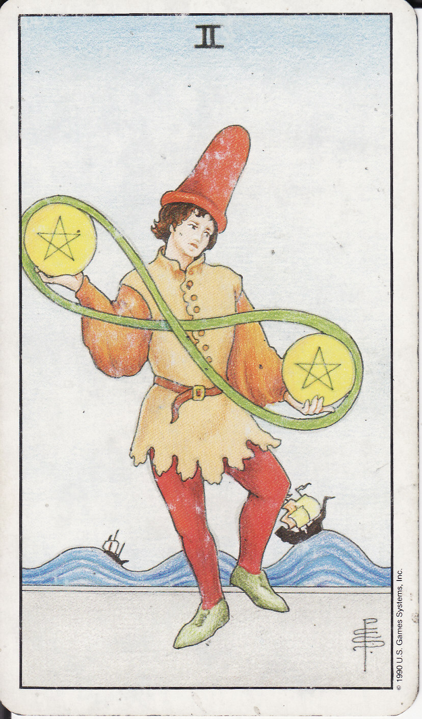 2 Two Of Pentacles Ii