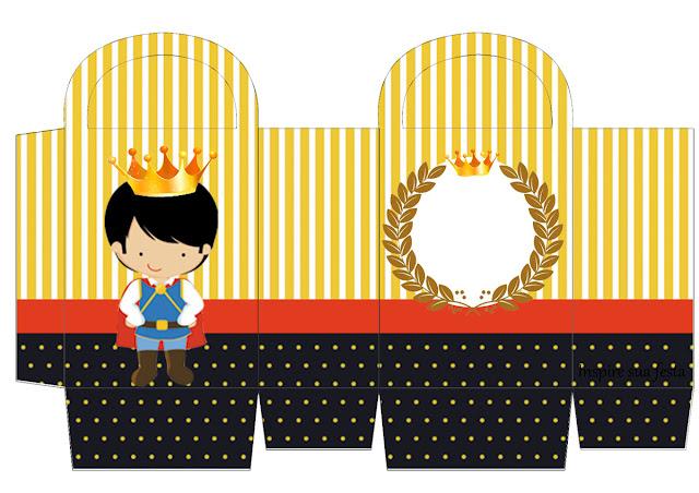 Little King Free Printable Box.