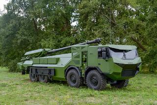 Howitzer Swa-Gerak 155mm Nexter CAESAR