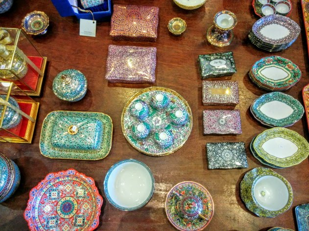 Exquisite Benjarong Crockery of Thailand