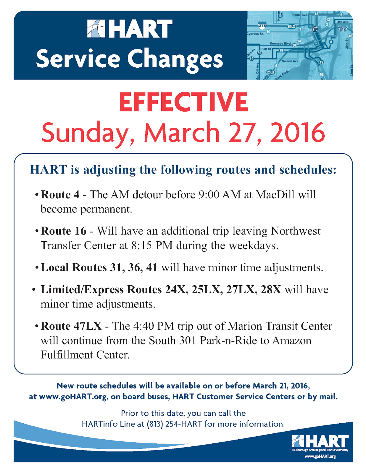 in transit - the official hart transit blog: minor hart service