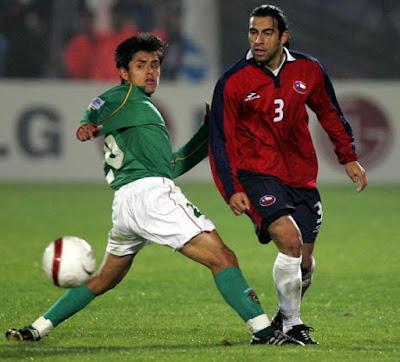 Chile y Bolivia en Clasificatorias a Alemania 2006, 4 de junio de 2005