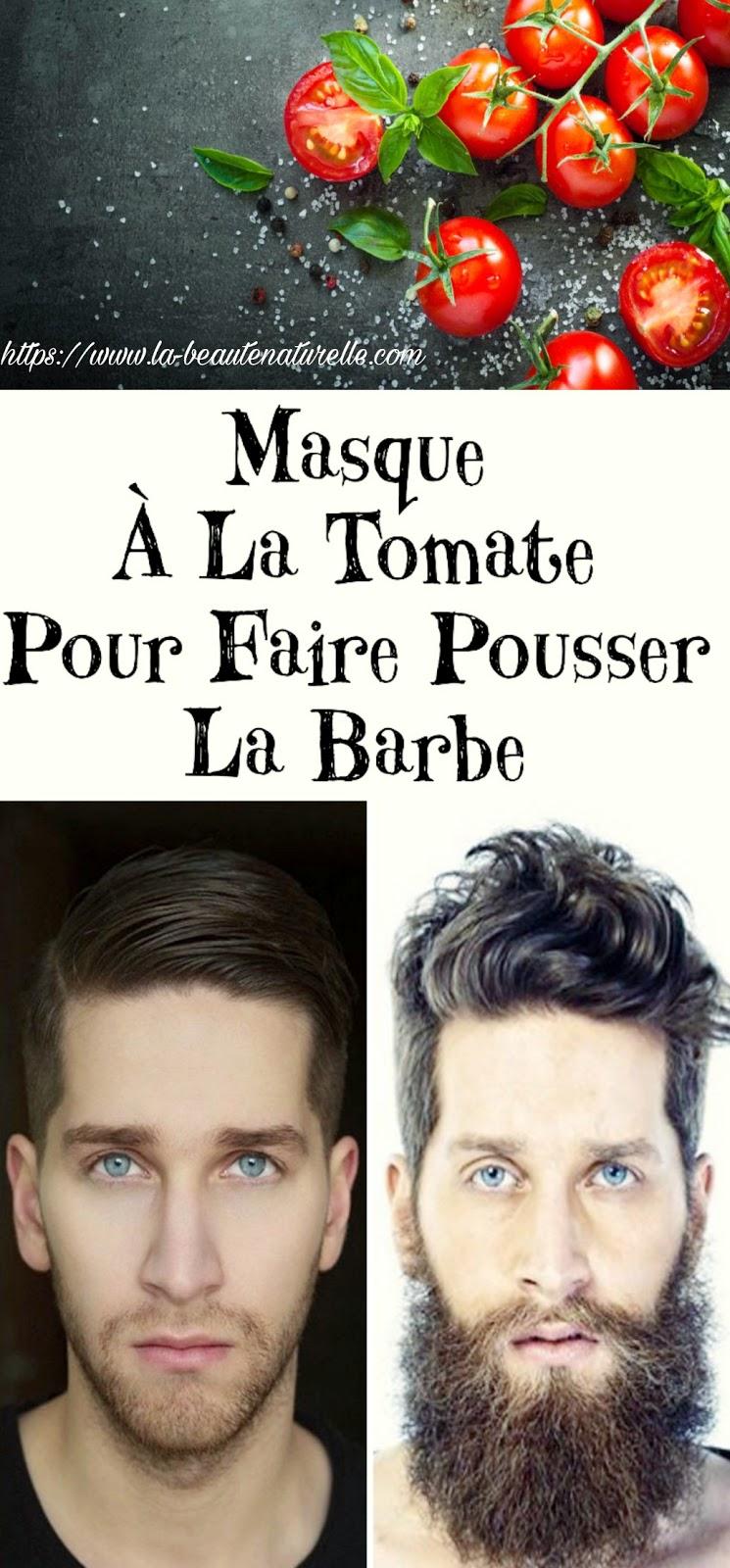 Masque À La Tomate Pour Faire Pousser La Barbe