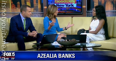 Azealia Banks Morning News Girl