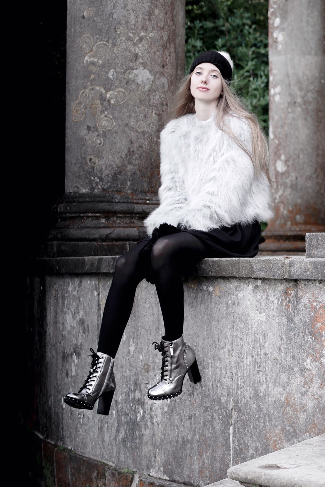 How to Style Metallic Boots in Winter