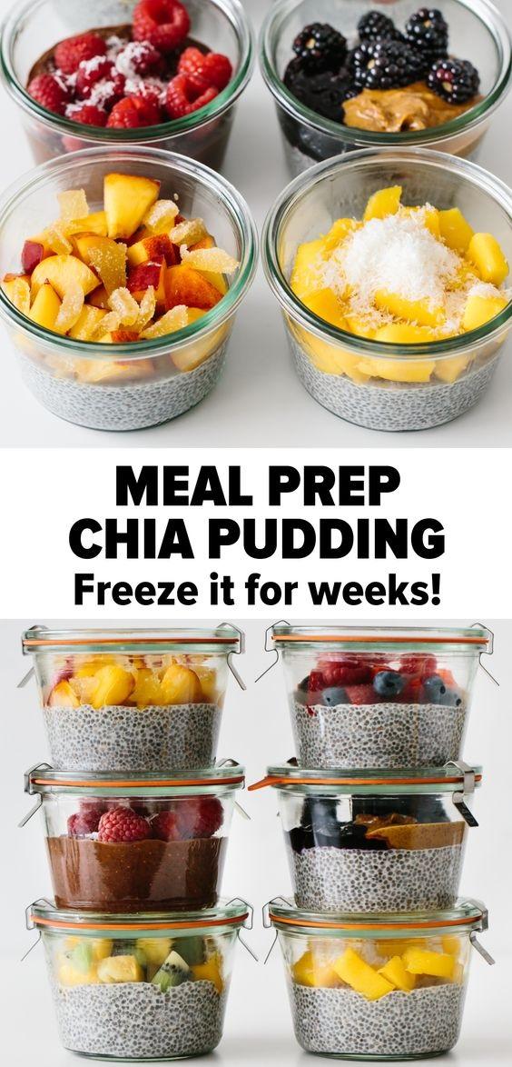 Meal Prep Chia Pudding