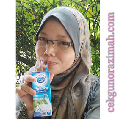 susu dutch lady purefarm, bersarapan dengan susu dutch lady,