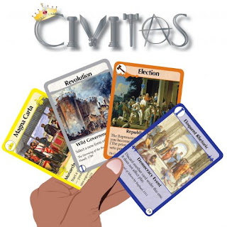 Civitas card game for families