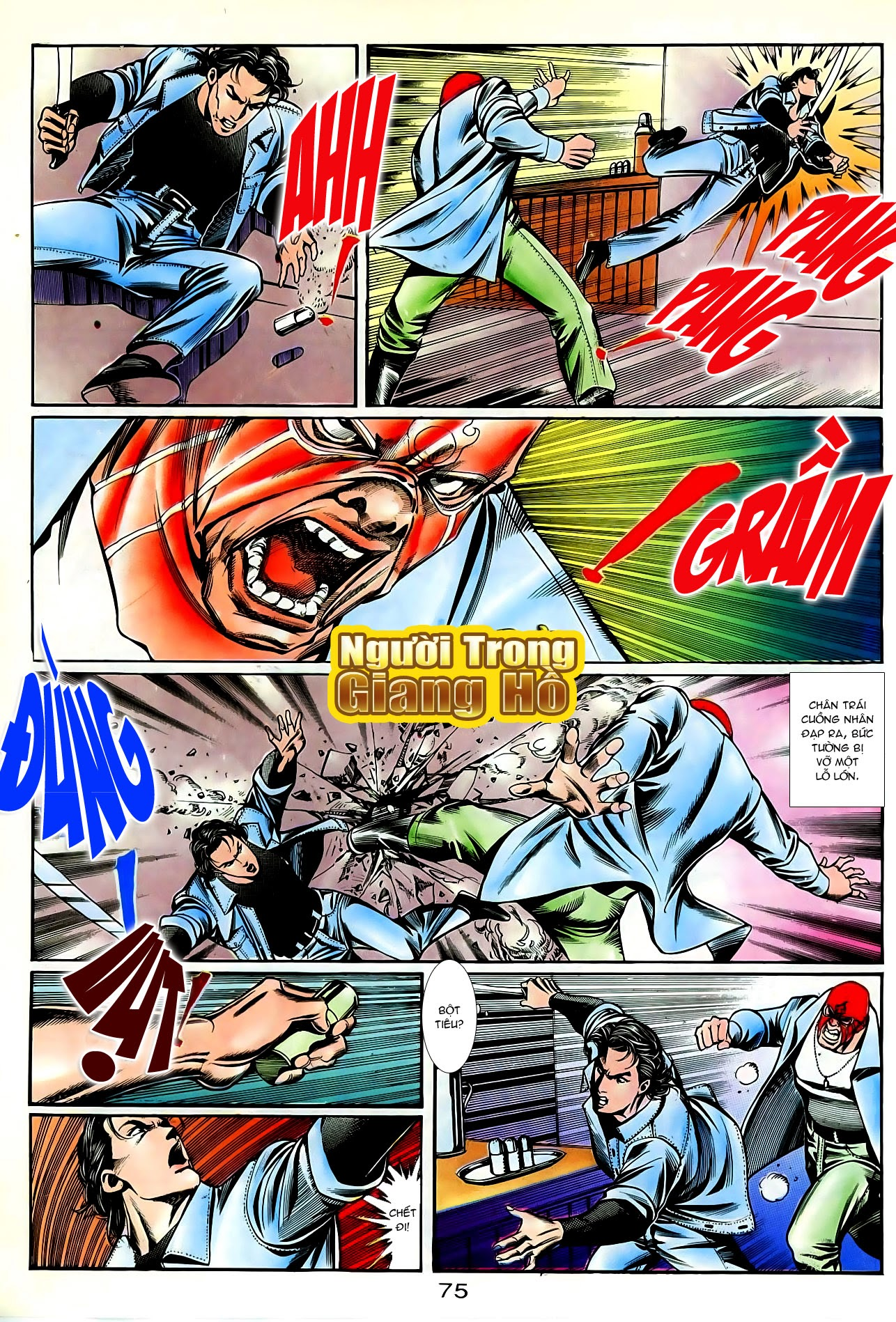 Người Trong Giang Hồ chapter 86: săn báo trang 18