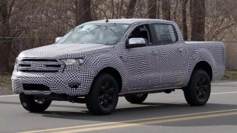 2020TECH: Leaked Photos of the 2019 Ford Ranger