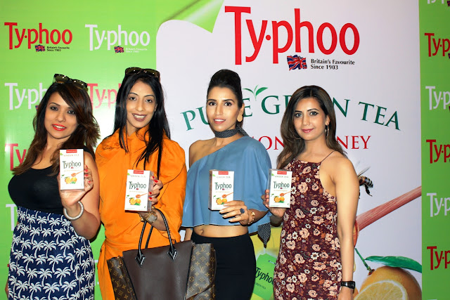 Shalini Chopra- Unveiling Lemon and Honey Green tea variant with friends