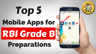 Top 5 Mobile Applications RBI Grade B Preparations