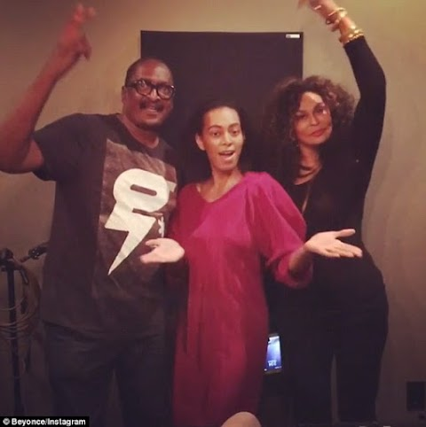Beyonce shares rare photo of her father Matthew Knowles bonding with ex-wife Tina and daughter Solange