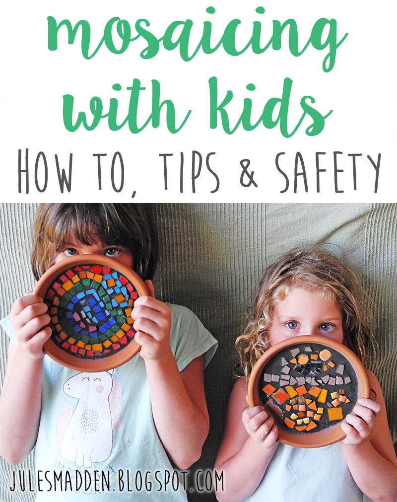 mosaicing with kids, kids craft, craft, tutorial, craft tutorial, DIY