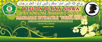 Wisuda Nurul Huda Banner
