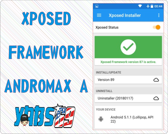 Cara Pemasangan Xposed Framework Andromax A A16C3H