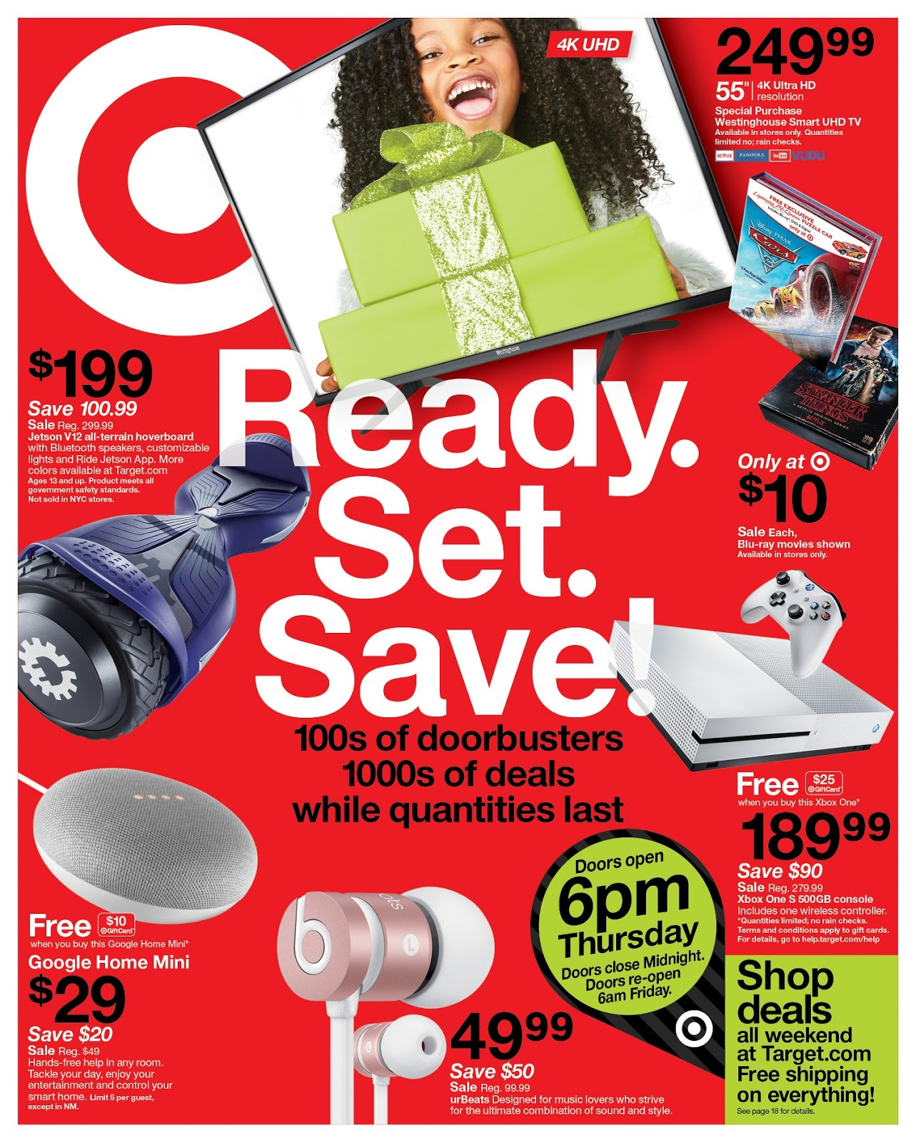 Target to offer shoppers a breather after Thanksgiving