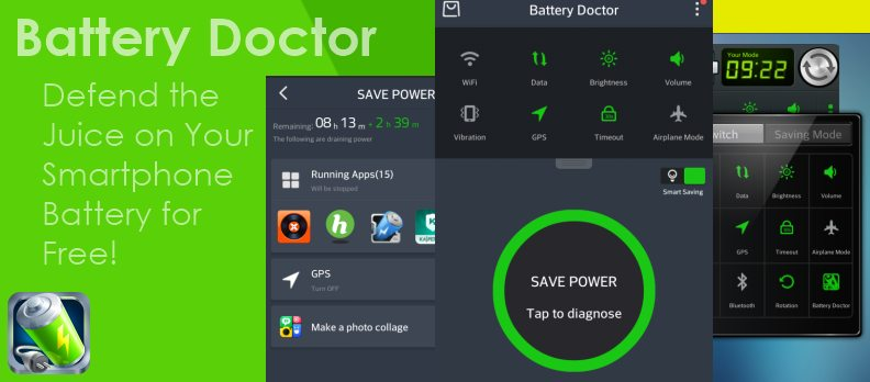 Aplikasi penghemat baterai android - battery doctor