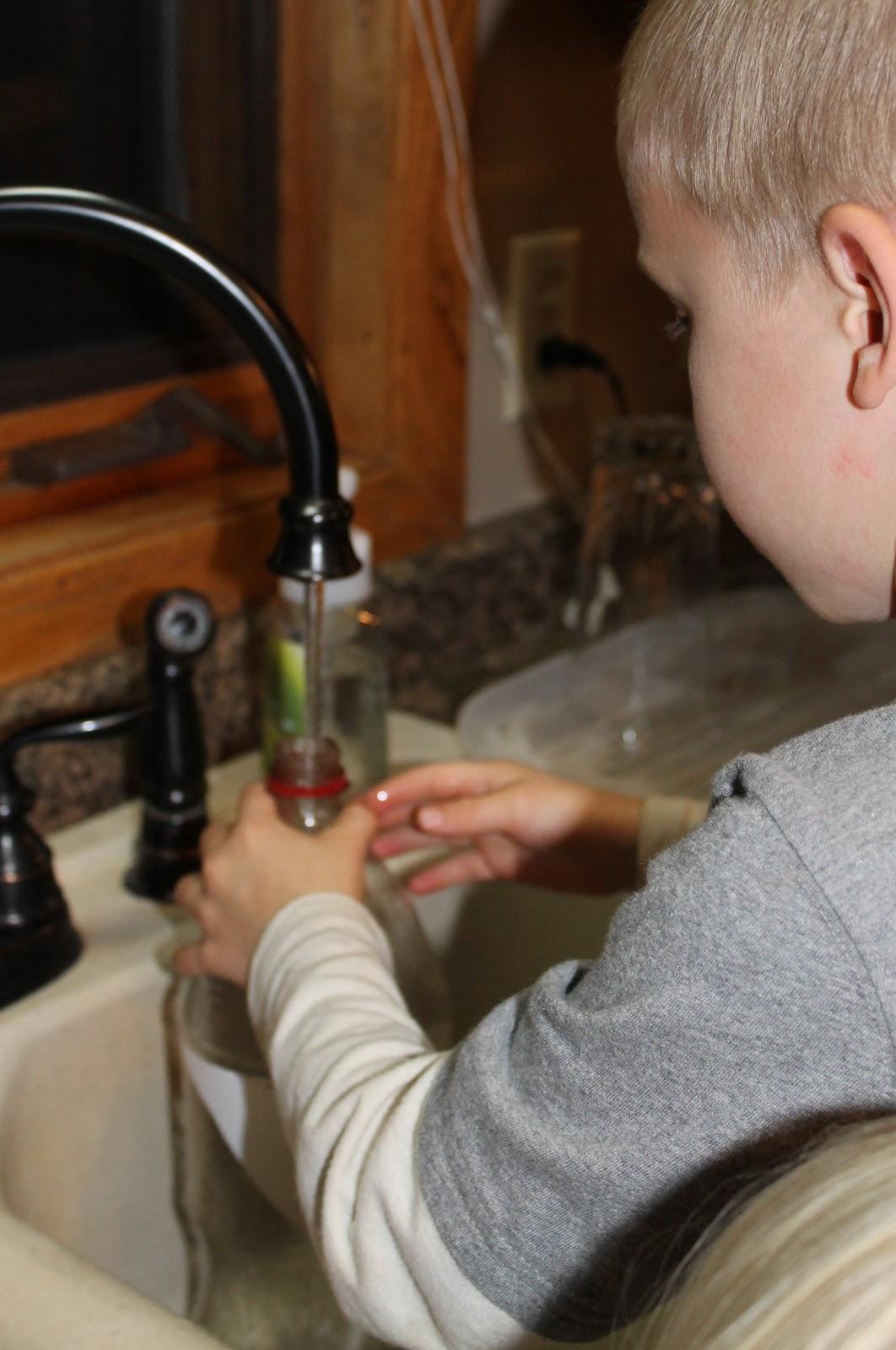 How To Make A Tornado Kids Science Experiment