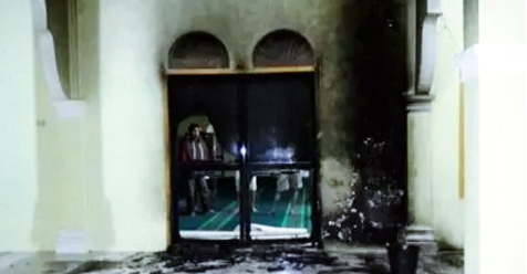 Mencoba Bakar Masjid, Seorang Remaja Diamankan
