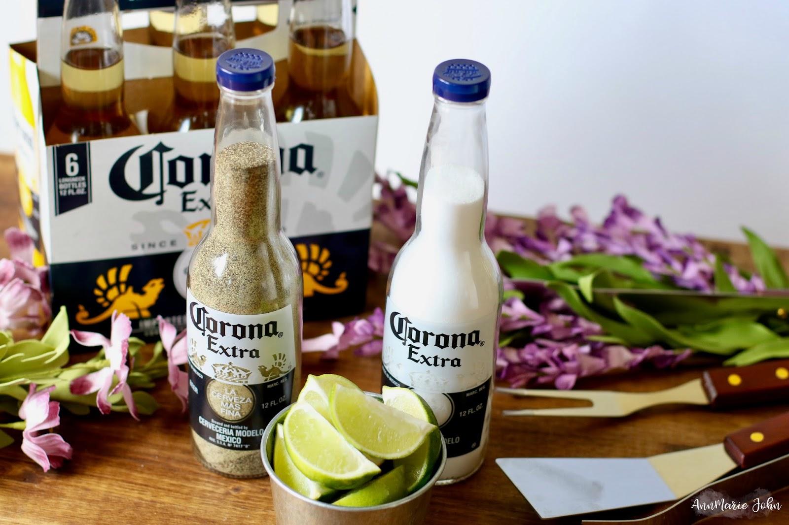 DIY Salt and Pepper Corona Shakers - #CoronaSummer
