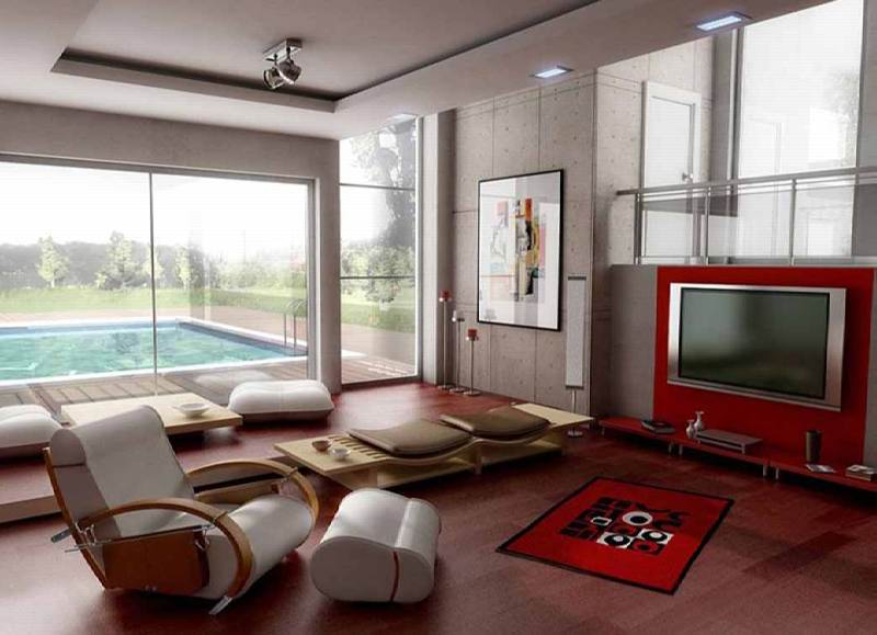 Contoh Pemilihan Warna Ruang Tamu Idaman Yang Tepat