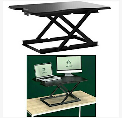 Adjustable Desktop Workstation - Zinus Standing Desk