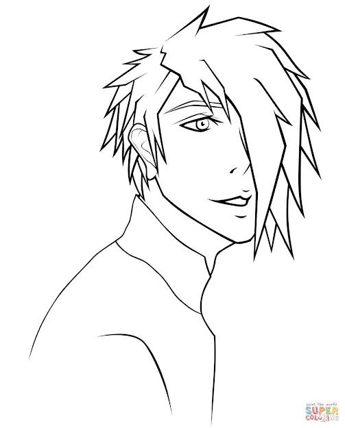 Rj Anime Boy Portrait By Sugarcoatedlollipops