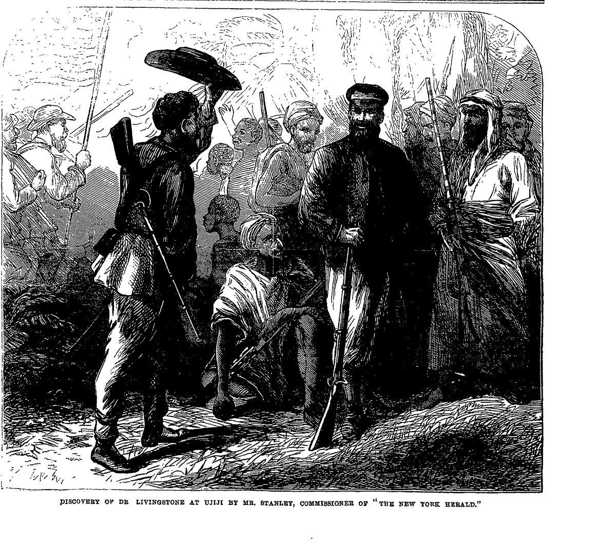 "November 10, 1871 --- ""dr. Livingstone, I Presume?"""