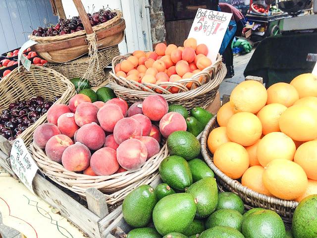 brighton the lanes shopping fruit market