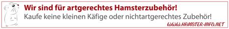 Hamster-Info.net - Der schnelle Überblick zum Thema artgerechte Hamsterhaltung