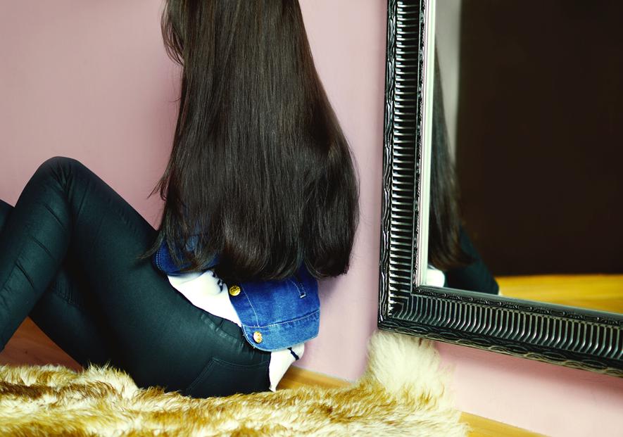 suche końcówki włosów