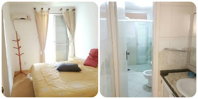 Apartamento para locação de frente para o mar em Itapema