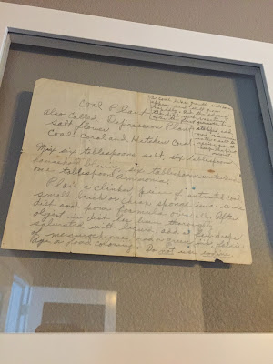 #mills new house, recipe wall, old recipes, wall art, coal plant