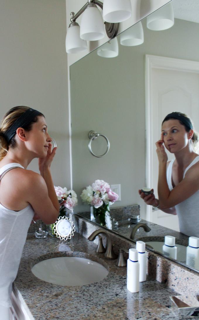 Skin Care Routine Blushing Momma