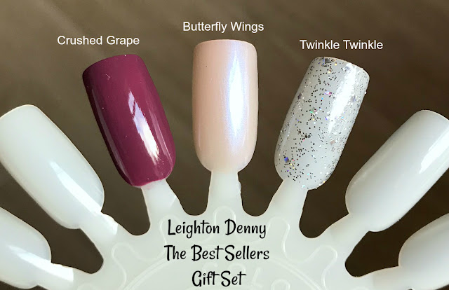 Leighton Denny The Best Sellers Gift Set Swatches
