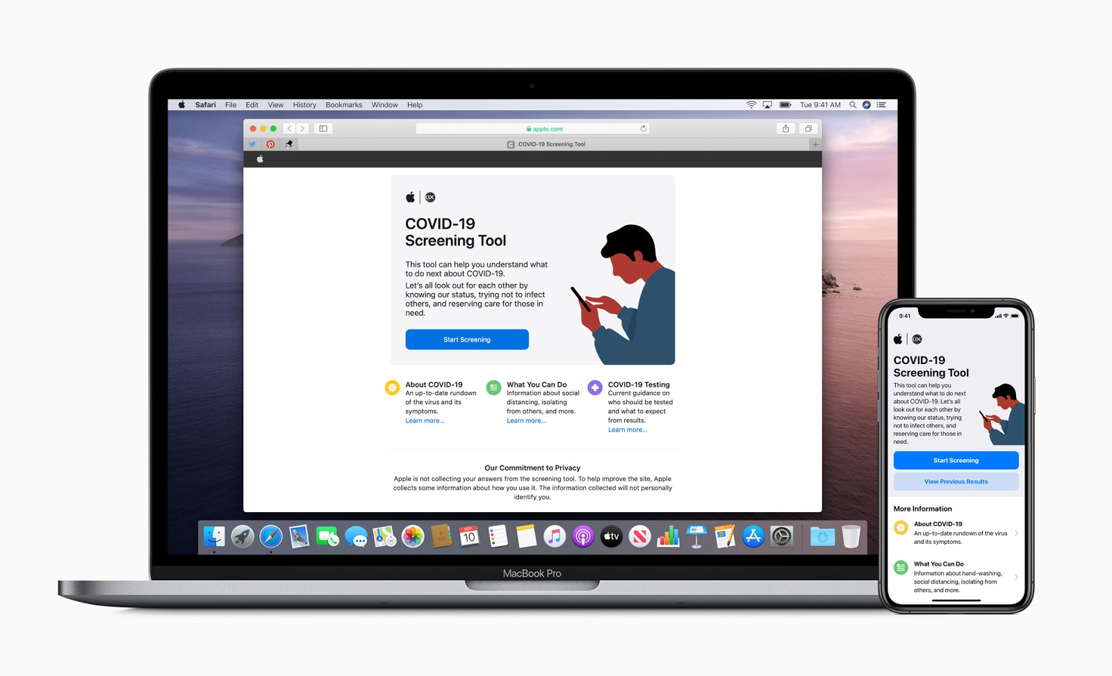 Apple Releases COVID-19 Screening Tool including App and Web Version