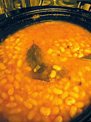 Smokey and Savory, side dish of beans. Cook a pot of beans weekly.
