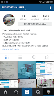 tips jualan di instagram online shop