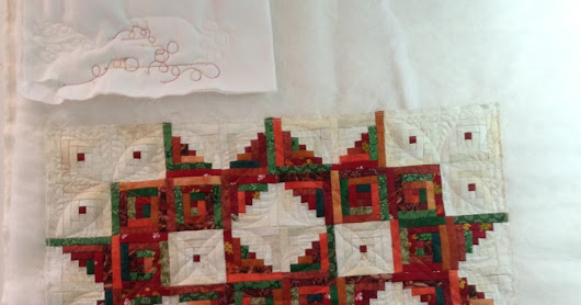 Miniature Quilts Need Machine Quilted Patterns and Designs TOO!