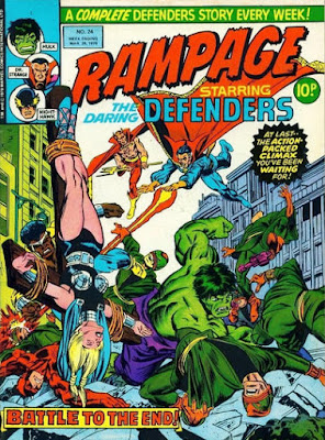Rampage #24, Defenders vs the Sons of the Serpent