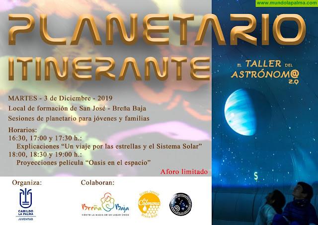 """BREÑA BAJA:El """"Planetario Itinerante"""" llega a San José"""