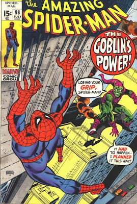 Amazing Spider-Man #98, drugs issue, Green Goblin