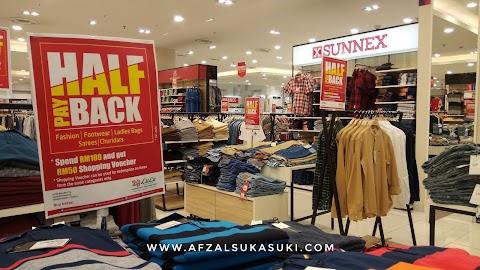 Promosi Bayaran Balik Separuh Harga Di Lulu Hypermarket, KL